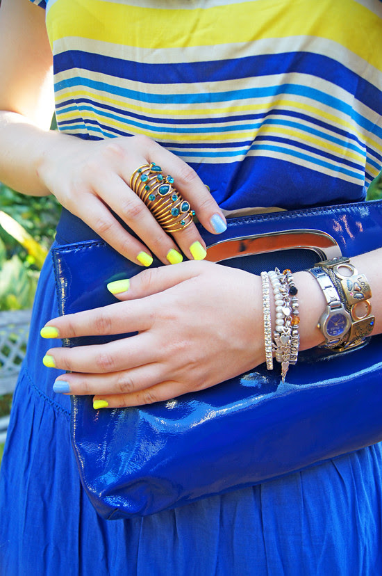 Blue & Yellow by The Joy of Fashion (4)
