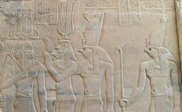 Isis-horus-Mars-venus-gods