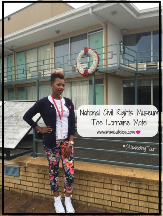 National Civil Rights Museum : The Lorraine Motel #StJudeBlogTour - MimiCuteLips
