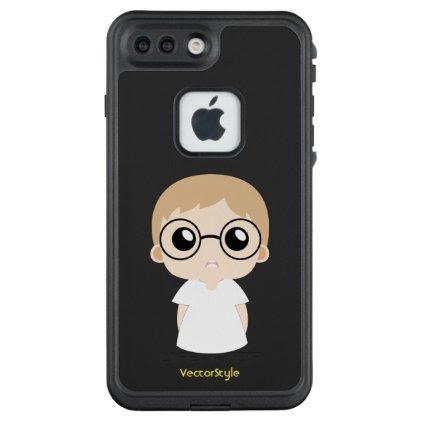 Spike a nerd kid mobile case