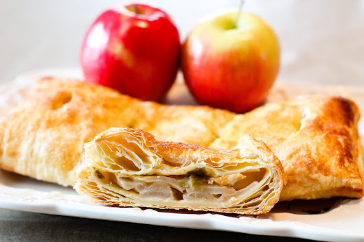 Apple Rhubarb Turnovers Recipe: Quick Dairy-Free Breakfast Pastries