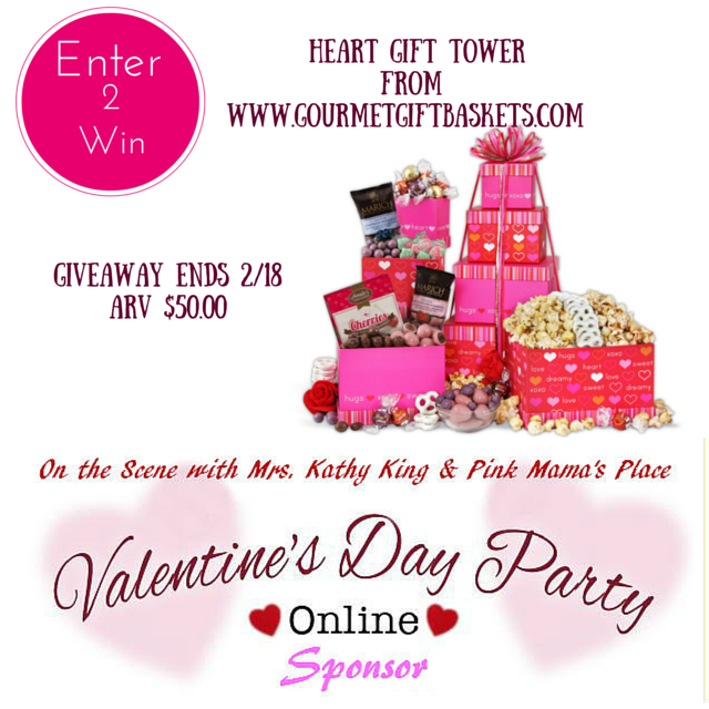 Enter to win the Heart Gift Tower Giveaway. Ends 2/18.