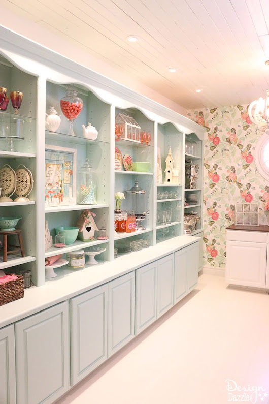 Laundry Pantry Room Final Reveal - Design Dazzle