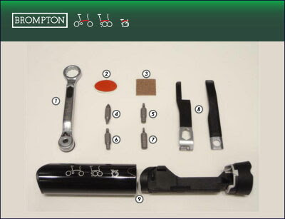 【BROMPTON】ブロンプトン TOOL 工具 TOOL KIT ツールキット【2-3月入荷予定】【BROMPTON】ブロ...