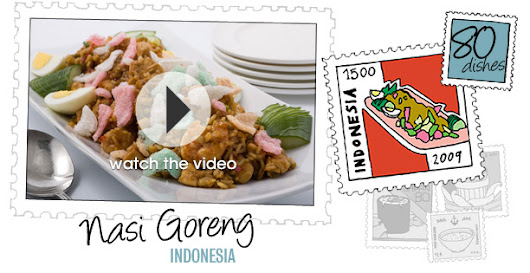 Indonesian Nasi Goreng Recipe and Video: Around the World in 80 Dishes | Epicurious.com