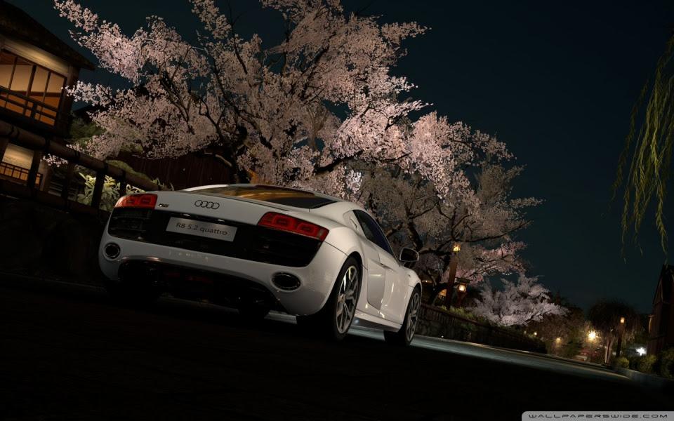 Rcomkyh Audi R8 Spyder Wallpaper In White