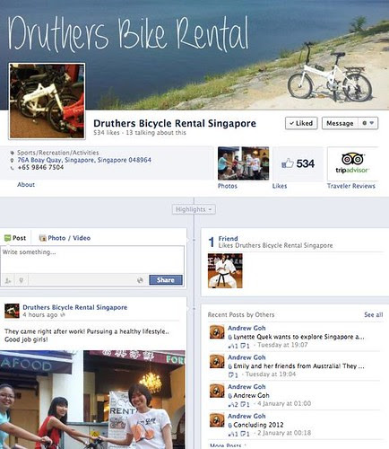 (1) Druthers Bicycle Rental Singapore