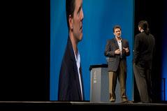 "Don Eklund and Jonathan Schwartz, General Session ""Java: Change (Y)Our World"" on June 2, JavaOne 2009 San Francisco"