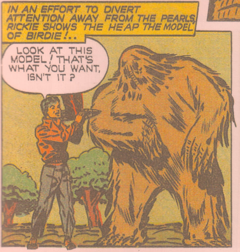 Rickie Wood, the Heap's human interest leash.