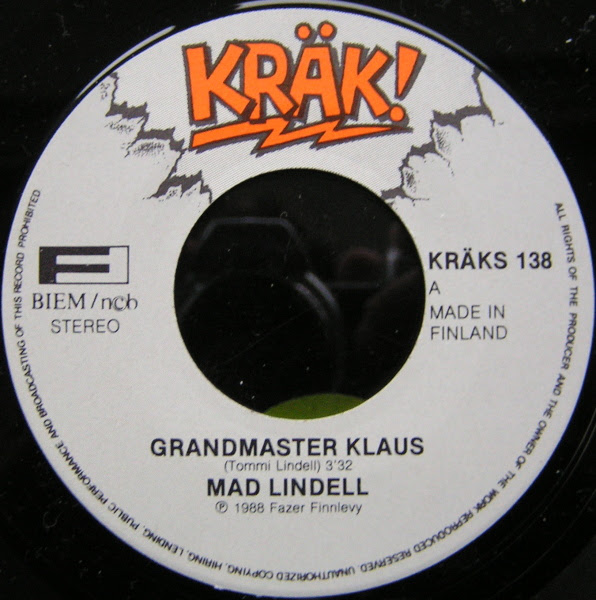 Mad Lindell: Grandmaster Klaus B