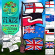 Flags of New Zealand Clip Art