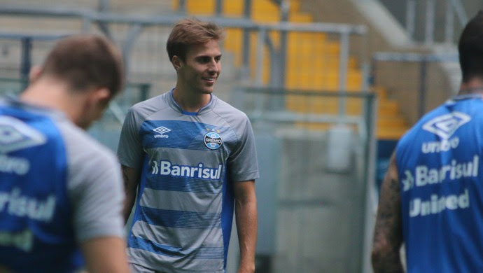 Bressan Grêmio (Foto: Eduardo Moura/GloboEsporte.com)