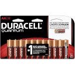 Duracell Quantum AA Alkaline Batteries - 12 pk.