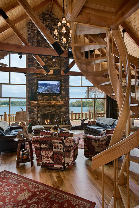 Cabin Design Ideas For Inspiration - 40 Mountain Houses