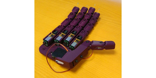 Pololu - Open-source myoelectric hand prosthesis