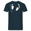 Headphones - White - Classic T-Shirt by B&C (Men)