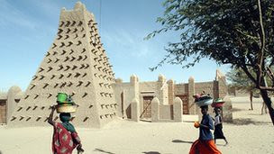 The ancient historic city of Timbuktu in Mali. The city was a center of education and culture in West Africa during the period leading up to the Atlantic slave trade. by Pan-African News Wire File Photos