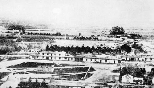 Earliest Known Photo of Plaza - 1859