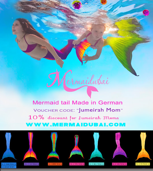 Sale on Mermaid tail for Jumeirah Moms