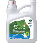 Seventh Generation Free & Clear Natural Liquid Laundry Detergent, 99 Loads - 150 oz jug
