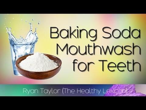 Baking Soda Mouthwash (Teeth Whitening)