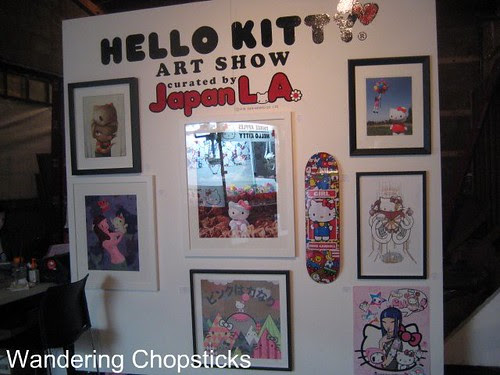 Royal T (Three Apples - An Exhibition Celebrating 35 Years of Hello Kitty and In Bed Together - Art & Bites from Ludo Lefebvre) - Culver City 30
