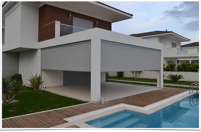çeşme özel Villa Crocist Güneş Ve Gölge Kontrol Sistemleri