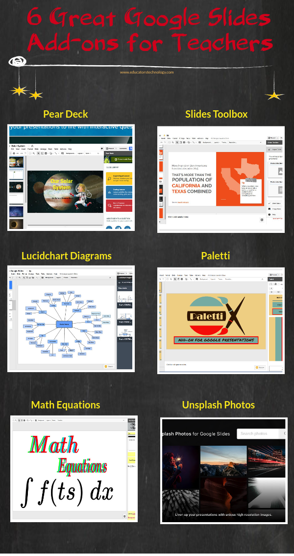 6 Great Google Slides Add-ons for Teachers