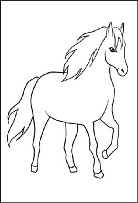 malvorlage steigendes pferd  kostenlose malvorlagen ideen