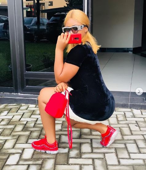 Teenage Actress, Regina Daniels Strikes Awkward Picture Pose
