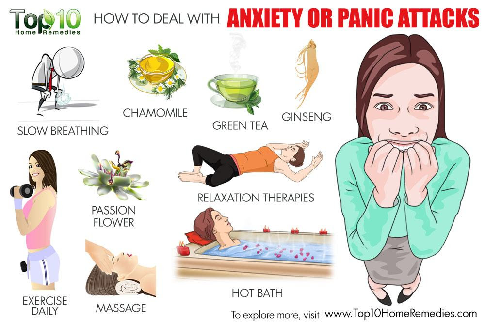 How to Deal with Anxiety or Panic Attacks | Bewellhub