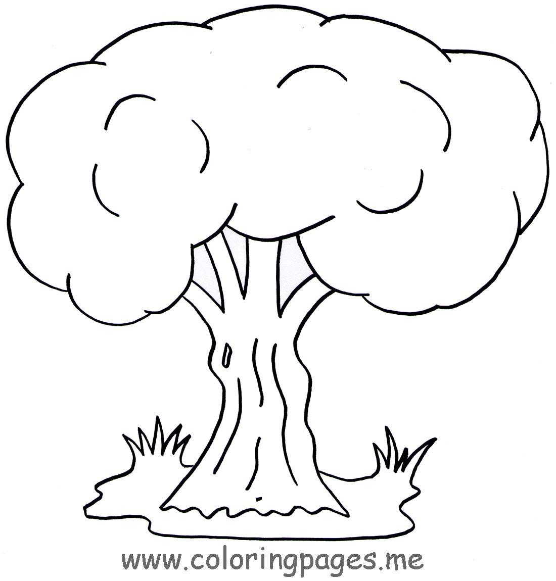 66 Dibujos De árboles Para Colorear Oh Kids Page 2
