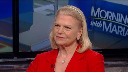 IBM CEO on use of artificial intelligence to improve business