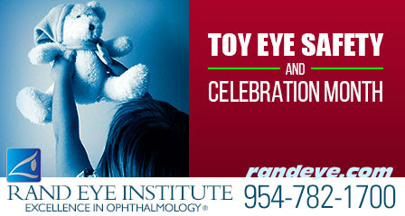 Safe Toys and Celebration Month | Rand Eye Institute