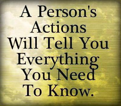Actions Speak Louder Than Words Inspirational Quotes