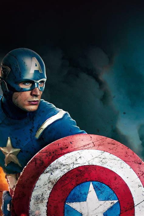 wallpaper captain america avengers illust film iphone