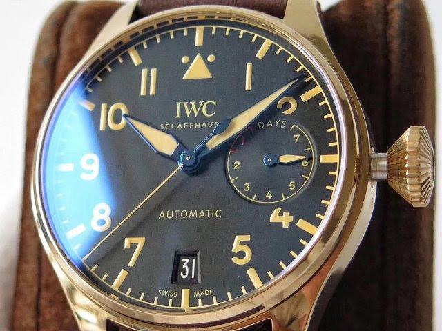Replica IWC Brown Dial