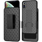 iPhone XS Max Holster Case, Aduro Combo Shell & Holster Case for iPhone XS Max