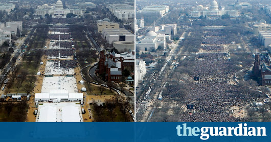 Trump's inauguration crowd: Sean Spicer's claims versus the evidence | US news | The Guardian
