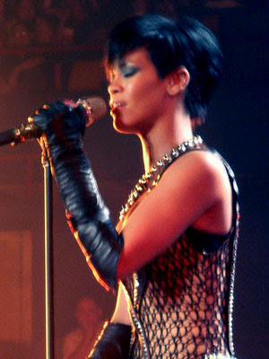 Rihanna and Chris Brown concert, Brisbane Ente...