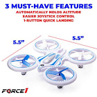Force 1 UFO 4000 Mini Drone with LED Lights - F1-UFO400-WHT