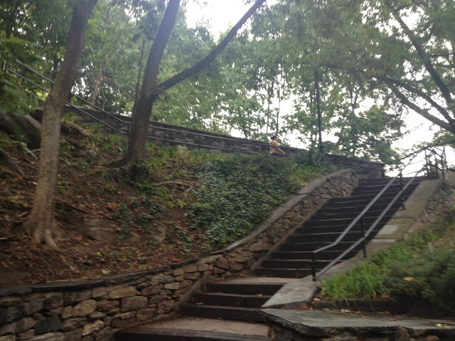 Isham Park Stairs