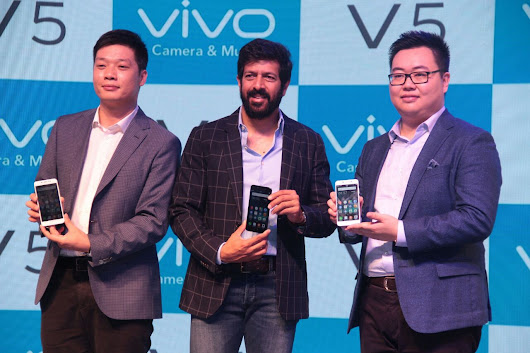 Vivo V5 is Launched in India with 20MP of Front Camera and Moonlight Focus - Technology Detector