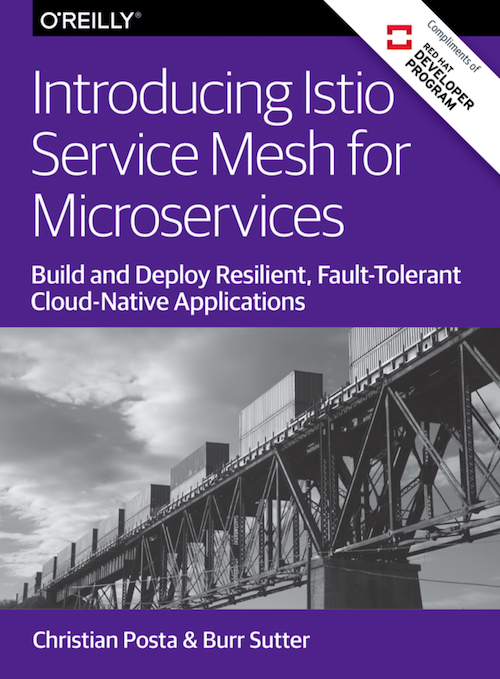 Our Book Has Been Released! Introducing Istio Service Mesh for Microservices