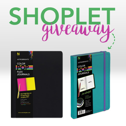 Win a Pack of Neenah Color Pop Journals | Shoplet