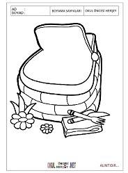 Piknik Boyama Sayfaları