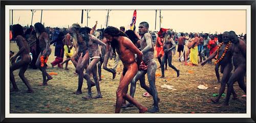 Naga Sadhus Shahi Snan by firoze shakir photographerno1