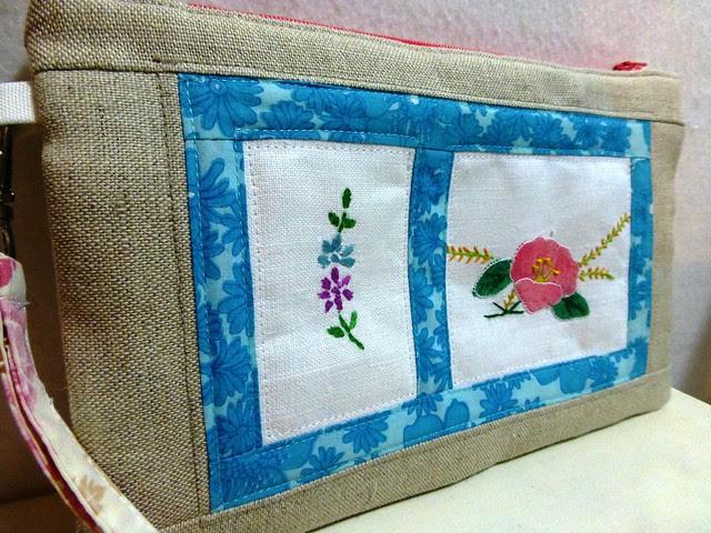 Vintage embroidery purse 008