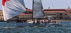 J/125 sailing San Diego