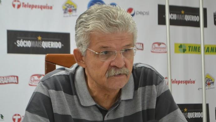 ABC Leonardo Arruda, vice-presidente de futebol (Foto: Jocaff Souza/GloboEsporte.com)
